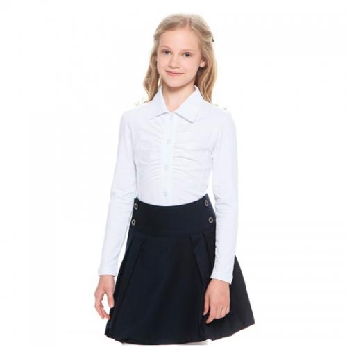 Lik блузка для девочки 1460 белая