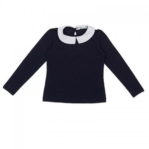 Lik блузка для девочки 1579 темно-синяя