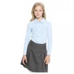 Lik блузка для девочки 1460 голубая
